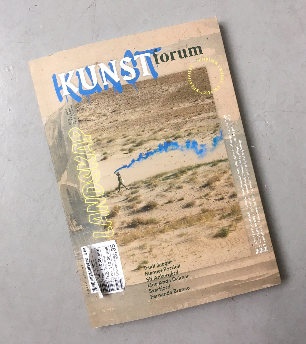 Interview Kunstforum Issue 2- 2018