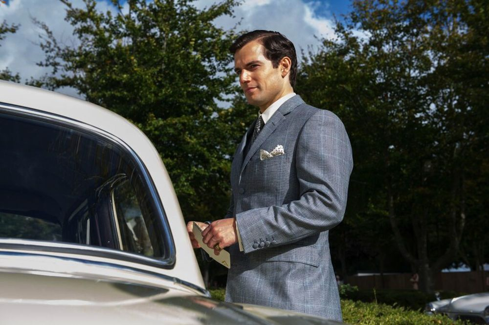 Henry Cavill in The Man from U.N.C.L.E