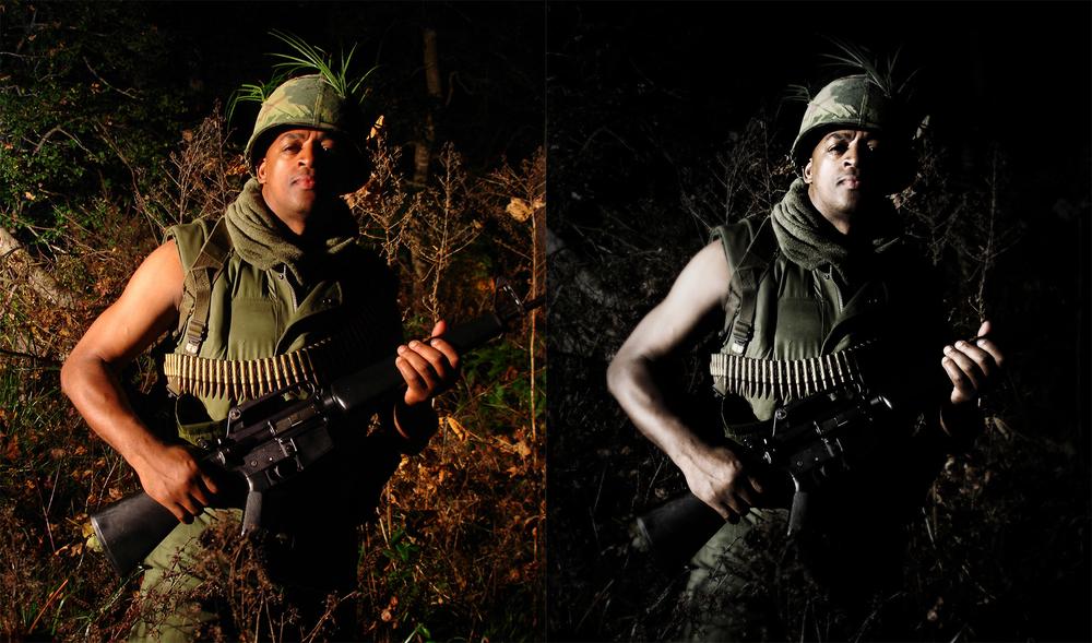 Vietnam Soldier Stylization