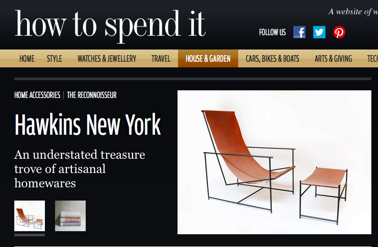 Hawkins New York - Home Accessories - How To Spend It