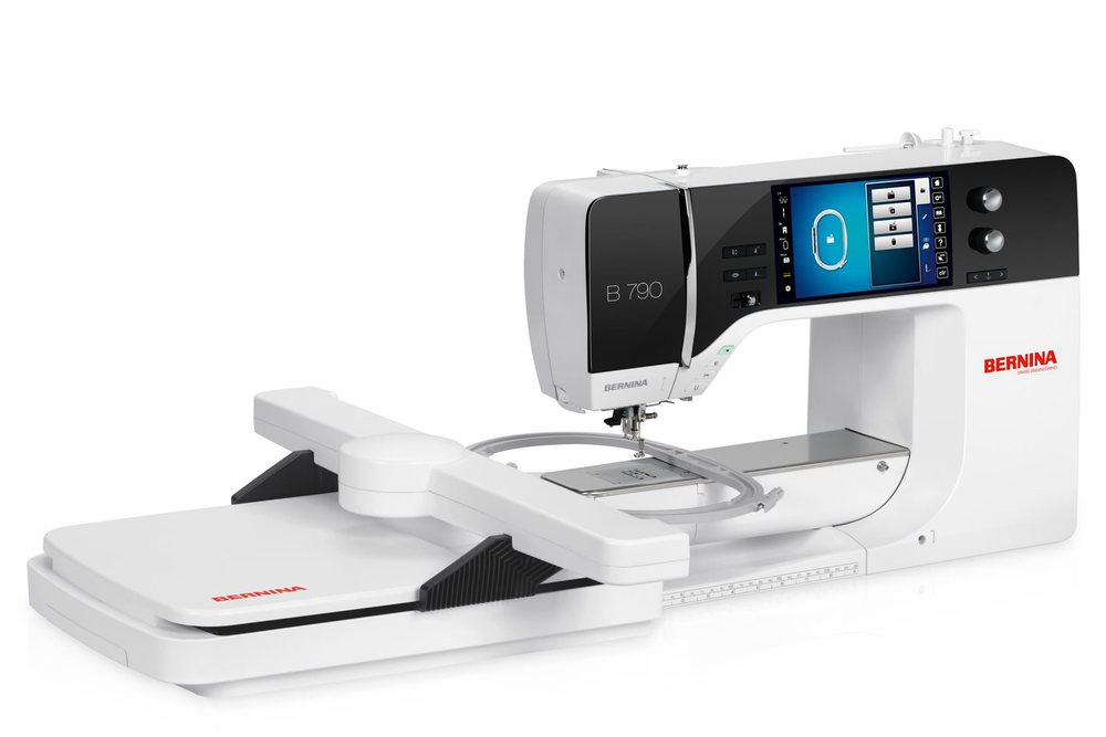"Bernina has introduced three new models to its 7-series range, each with a new hook system and user interface. The new machines offer cutting-edge technology with up to 254mm (10"") of space to the right of the needle, and the new Hook System has 9 or 5.5 mm width to provide superior stitch quality at up to 1,000 stitches per minute.  They also feature a new user interface with on-screen help, innovative functions like Bernina  Adaptive Thread Tension for perfect stitch quality on both sides of the fabric, and an increased selection of stitches and embroidery designs.  This new Hook System features a robust metal hook and a Jumbo Bobbin with up to 70 per cent  more capacity than standard bobbins. The bobbin case is constructed of high-quality synthetic material reinforced with fibre glass, offering impact resistance and high stability during long runs and its exclusive to the new generation 7 Series.  Users will also appreciate the built-in Dual Feed, slide-on extension table, high penetration power, and the ability to import and export stitches via USB. Additionally, the new generation 7 Series machines come with the Free Hand System (FHS), which allows hands-free raising and lowering of the presser foot as well as lowering of the feed dogs, and a selection of solid  presser feet to fit their sewing, quilting and embroidery needs."