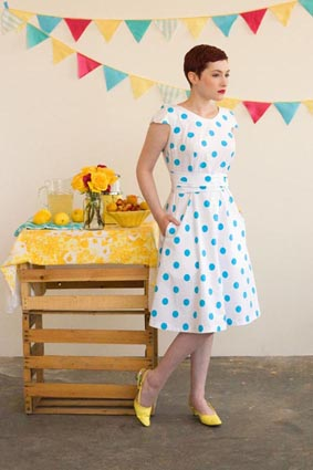 SEW THE VINTAGE LOOK — The Pattern Pages