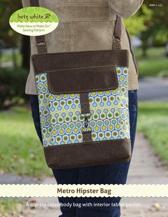 Metro Hipster bag from Betz White