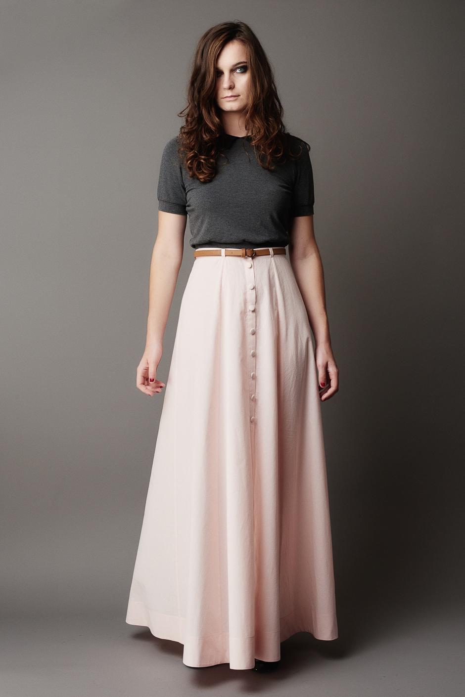 Fumeterre Maxi skirt from Deer & Doe