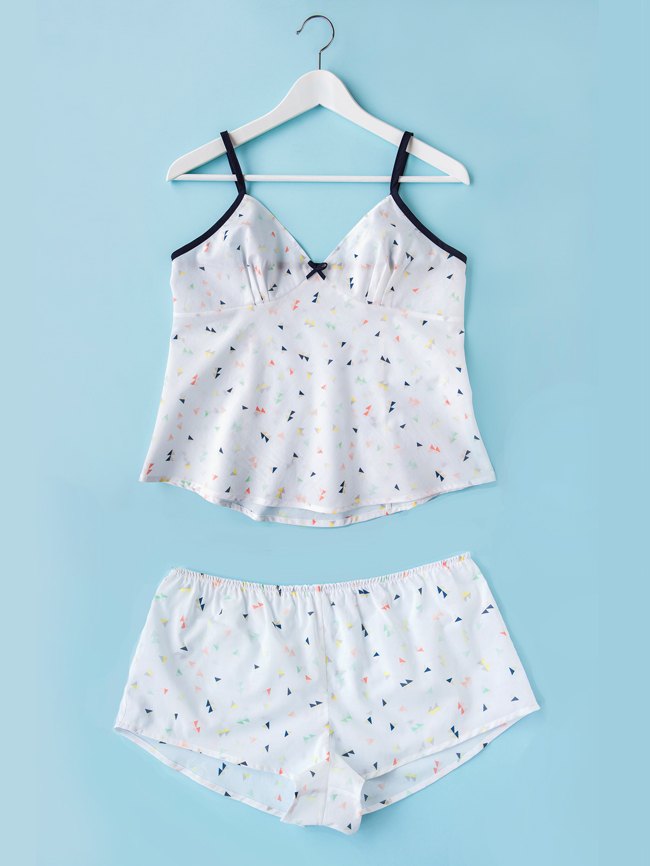 Fifi camisole and shorts set from Tilly and the Buttons