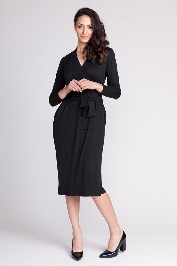 Olivia Wrap Dress from Named