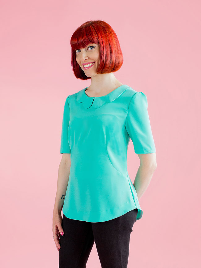 Orla top from Tilly and the Buttons