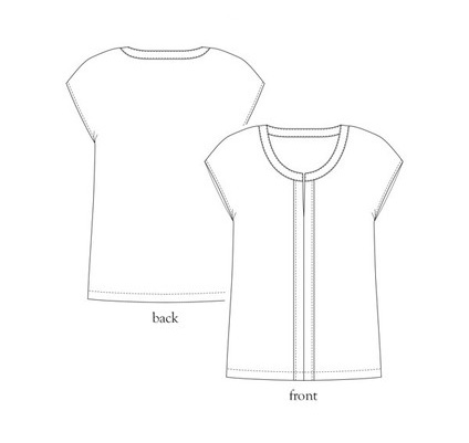 Maria Top from Salme Patterns