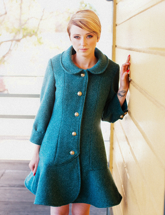Abbey Coat from Jamie Christina