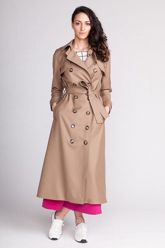 Isla Trench Coat from Named new Black collection