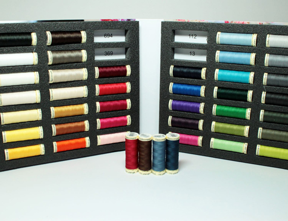 Gutermann thread notebook from WeaverDee