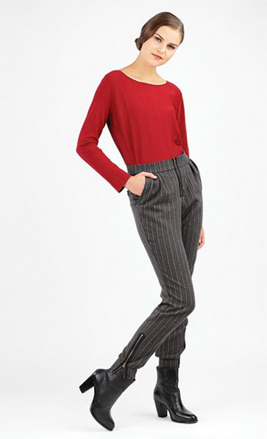 Wanda trousers from Schnittchen