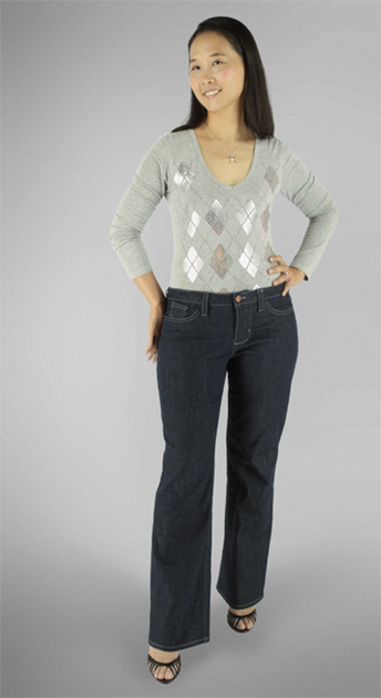 Liana Jeans from itch to Stitch