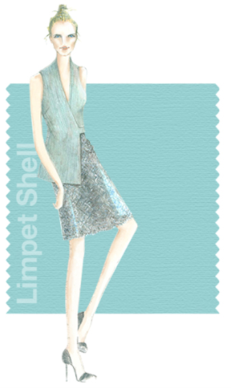 Limpet Shell - Pantone colour for spring 2016