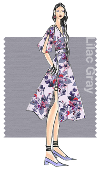 Lilac Grey - Pantone colour for spring 2016