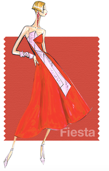 Fiesta - Pantone colour for spring 2016