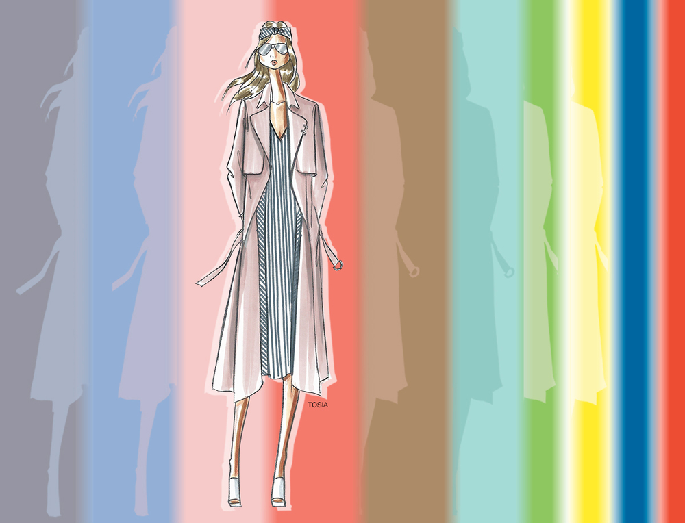 Pantone fashion colours for spring 2016