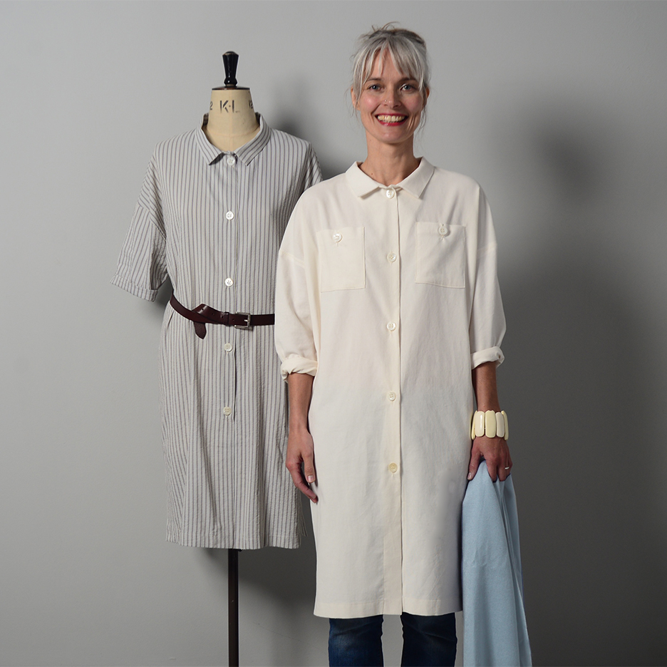 The maker's Atelier Oversized shirtdress