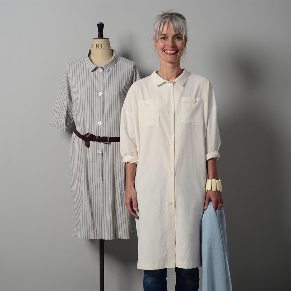 The maker's Atelier Oversized shirtdress