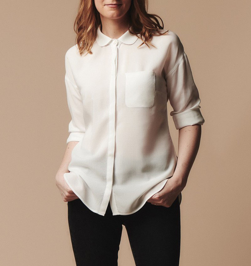 Melilot shirt from Deer and Doe sewing patterns
