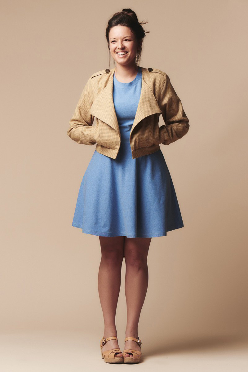 Lupin Jacket from Deer and Doe sewing patterns