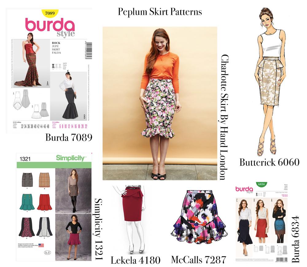 gbsb inspiration peplum skirt