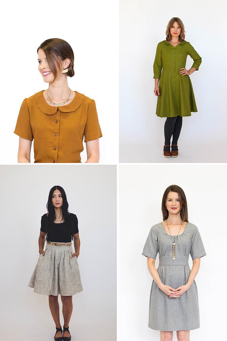 autumn pattern bundle