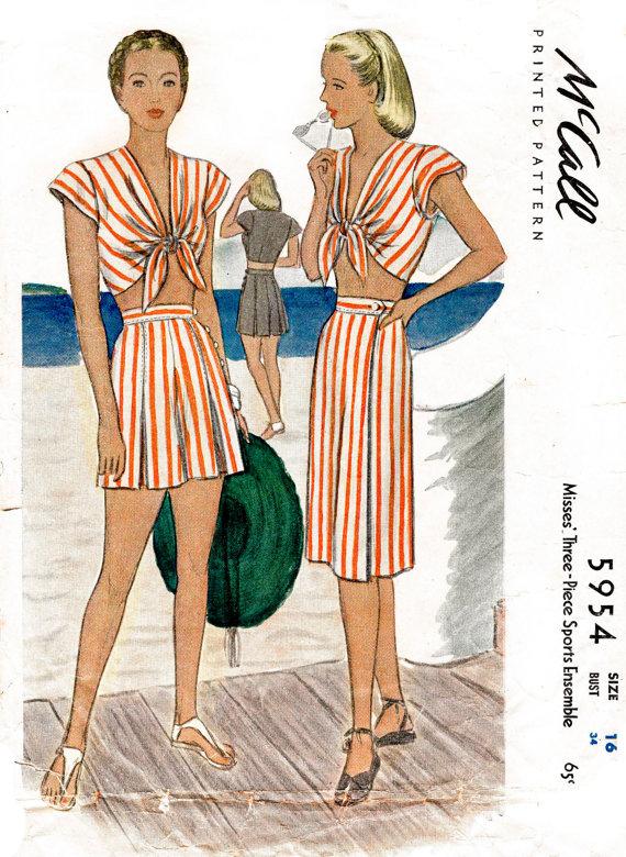 Lady Marlowe Studios - Beautiful restored vintage patterns!