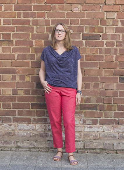 'Hero' trouser pattern from Sew Me Something