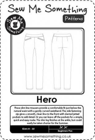 Hero sewing pattern