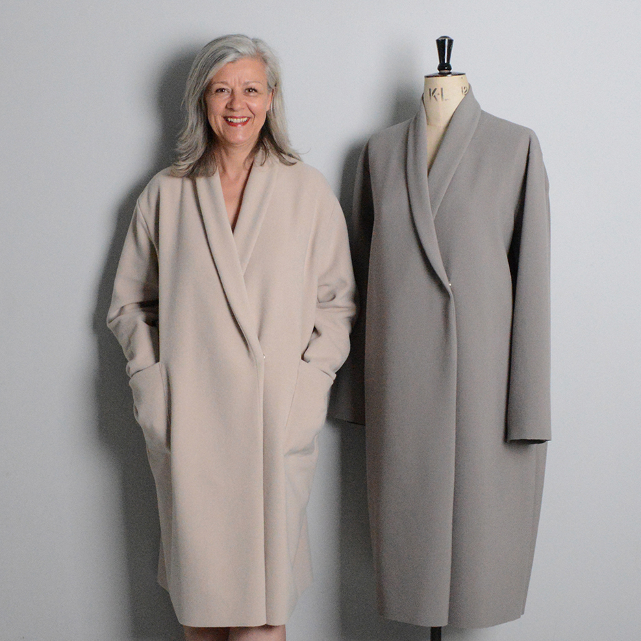 Shawl Collar Coat - The Makers Atelier