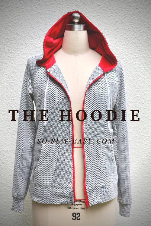 FREE Hoodie pattern and Tutorial from So Sew Easy — The Pattern Pages
