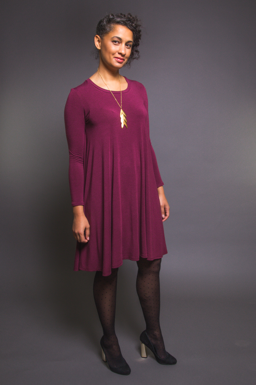 Ebony T-shirt and Dress Pattern