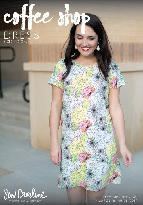 Sew Caroline Coffee Shop Dress