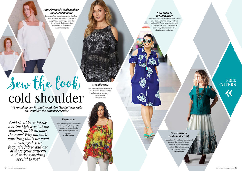 Sew the Look — The Pattern Pages