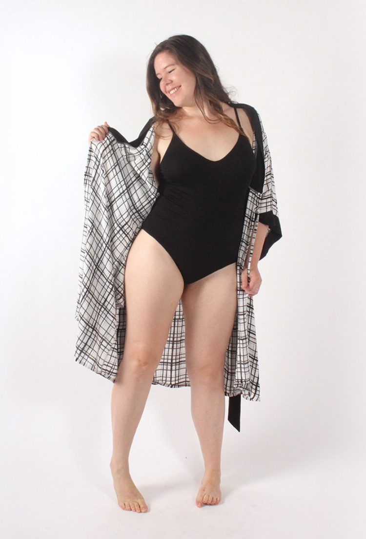 SUKI KIMONO - HELENS CLOSET Last minute holiday, check! This lovely kimono is perfect and in two great lengths - wear it when you're simply getting ready or beautiful if you want a cover up for the pool.