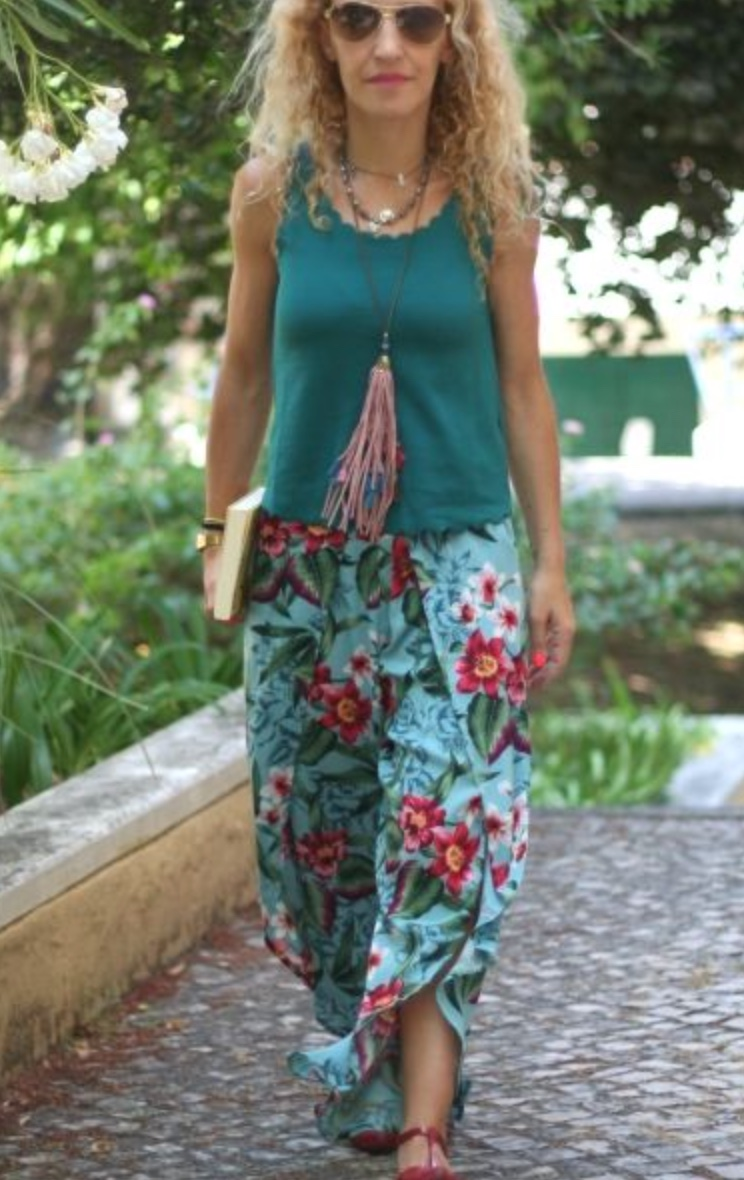 RAVANNA WRAP PANTS - DESIGNER STITCH These super comfortable funky trousers are great for lounging around in the warmer climes.