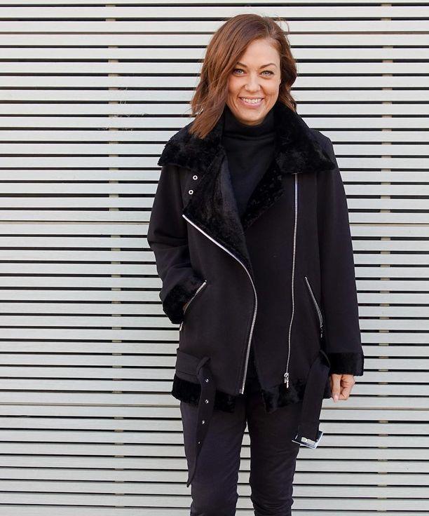 Carly aviator jacket - Style Arc