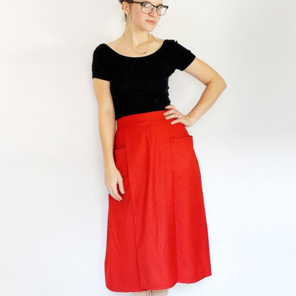 Patti pocket skirt  - Amy Nicole Studio