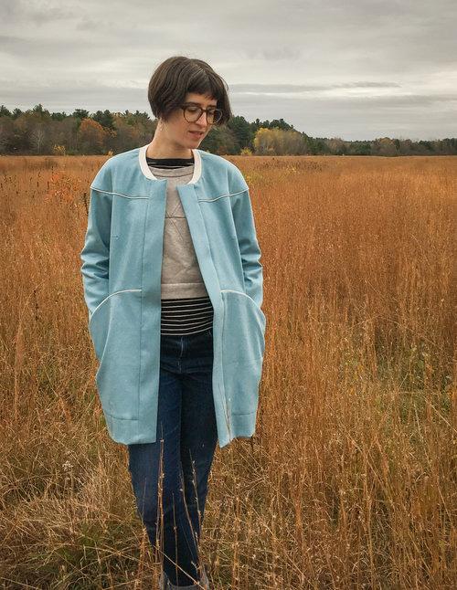 Moderne coat  - Blueprint for Sewing