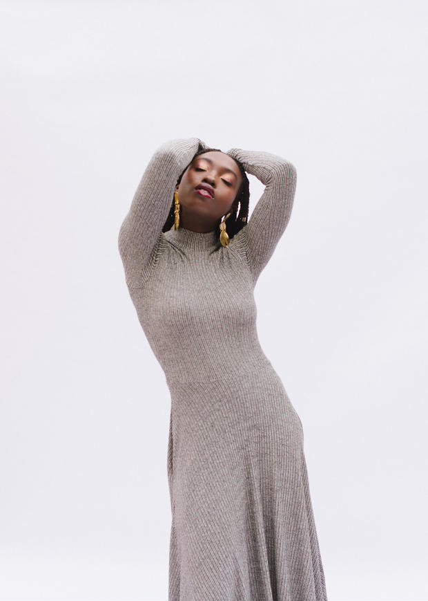 Frances knit dress and top - Arima Collection from Victory Patterns