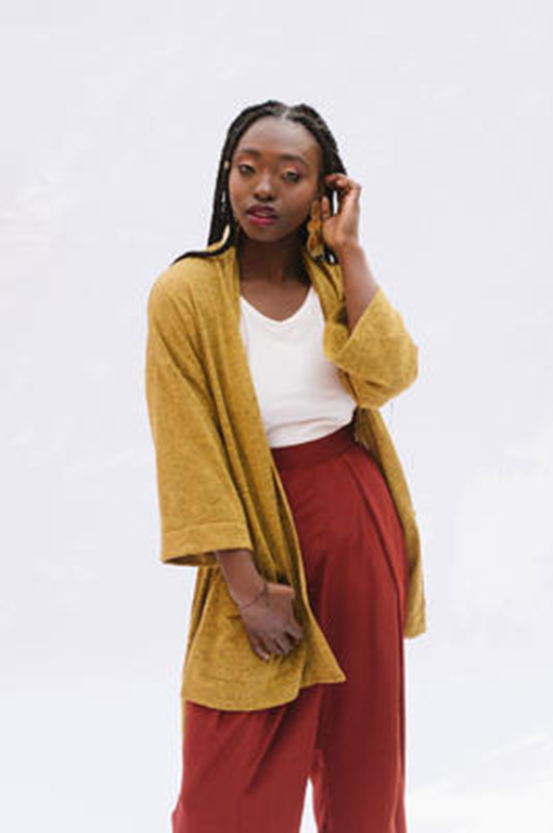Samara cardiganand robe - Arima Collection by Victory Pattern