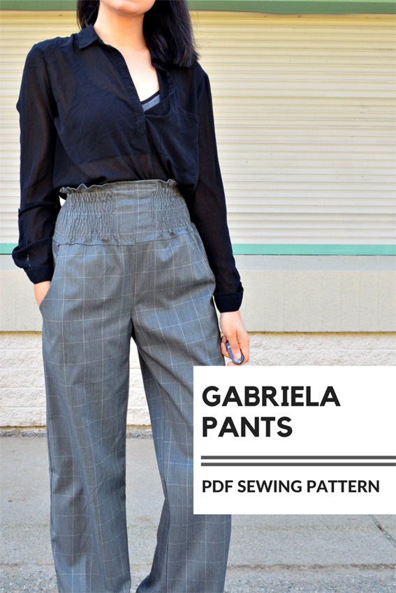 Gabriella trousers - DG Patterns