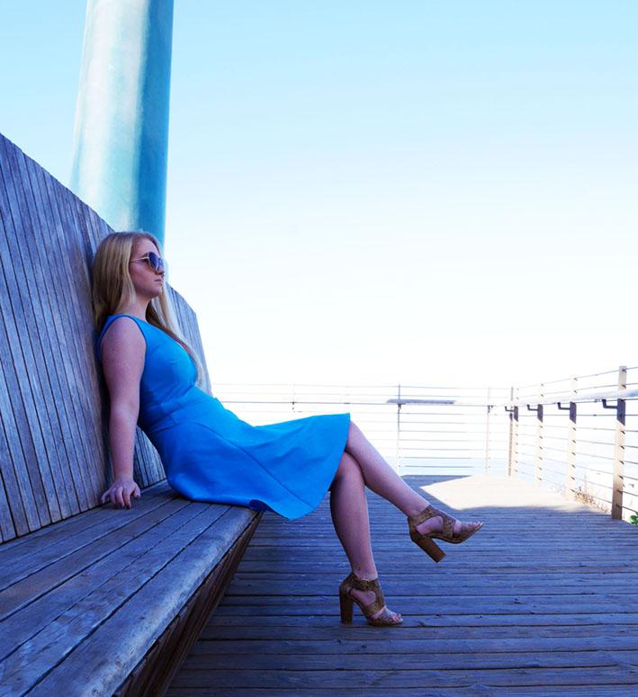 Culver dress - Pier & Palace