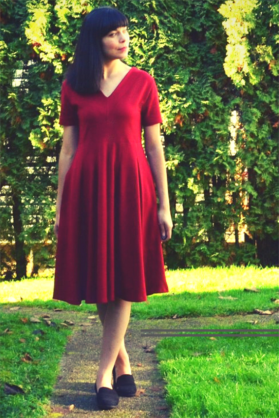 Roma Dress by DG Patterns