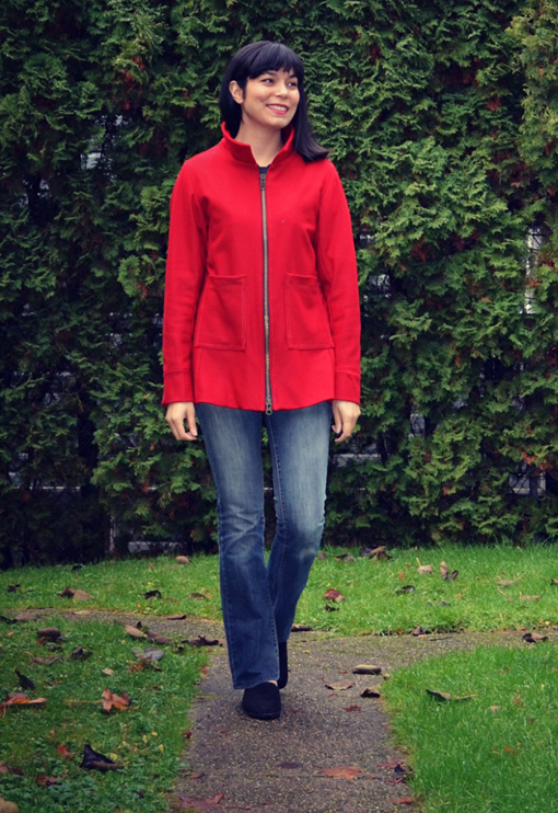 Ameila Jacket from DG Patterns
