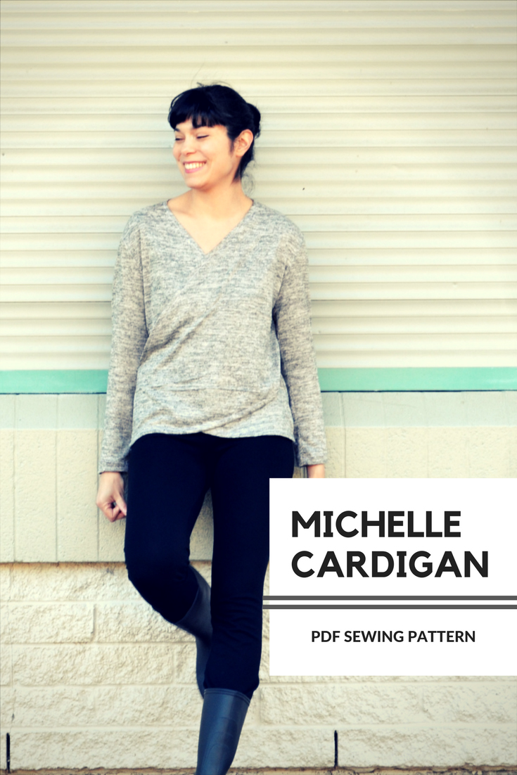 Michell cardigan from DG Patterns