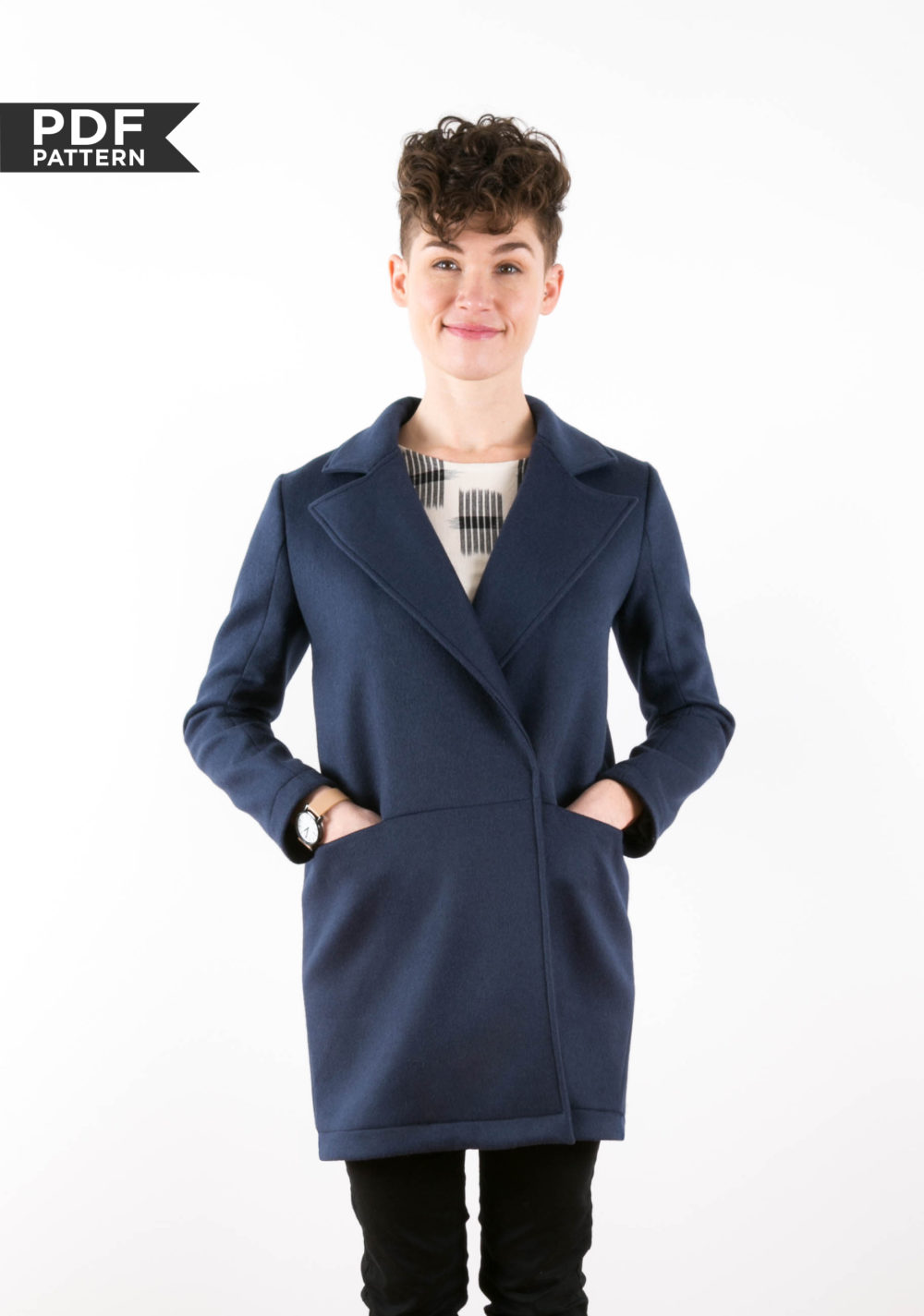 Yates coat from Grainline Studio
