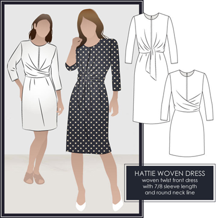 hattie dress from Style Arc