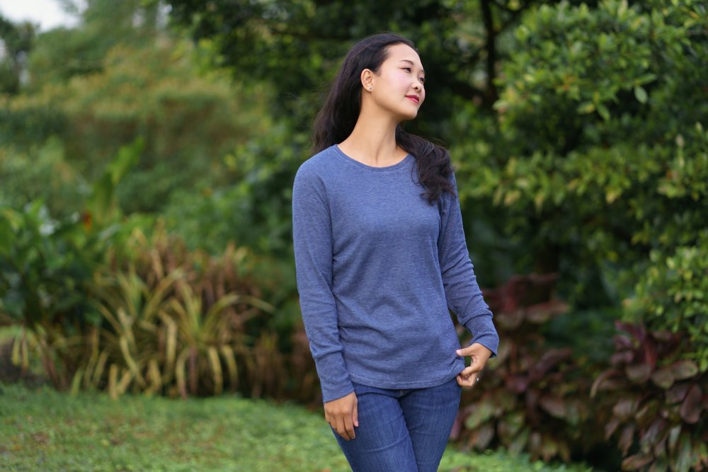 visby top from itch to stitch